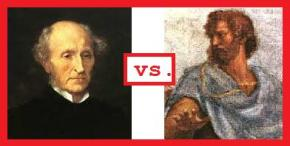 Aristotle's View of Happiness vs. Mill's View ofHappiness