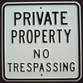 Private Property Please