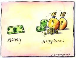 money equals happiness