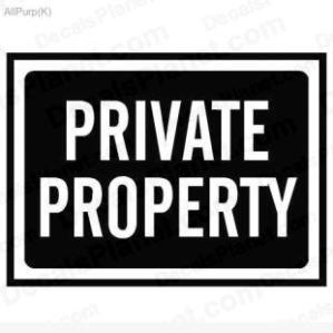 private property 1