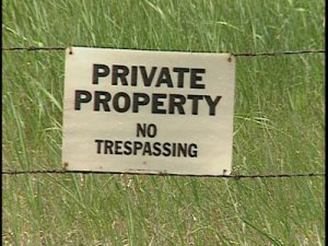 private property image