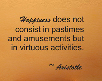 aristotle on happiness essay