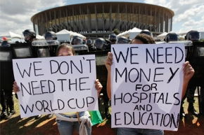 The real cost of the 2014 WorldCup