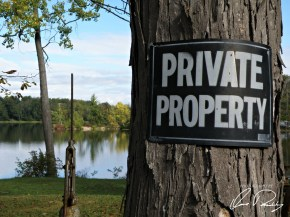 Is private property good and just?
