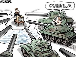 Crimea Vote: not fair