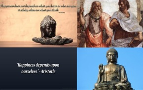 Would Aristotle be considered a Buddhist?